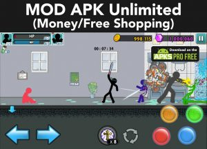 Anger of Stick 5: Zombie MOD APK 1.1.54 (Free Shopping) 1