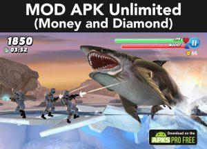 Hungry Shark World MOD Apk 4.4.2(Unlimited Money and Diamond) 1