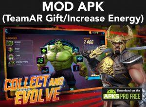 Marvel Strike Force MOD Apk  5.6.1 (TeamAR Gift/Increase Energy) 1