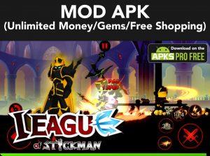 League of Stickman MOD Apk + OBB 6.1.6 (Unlimited Money/Gems) 7