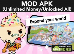 Toca Life World MOD APK 1.34.1 (Unlocked All/Unlimited Money) 1