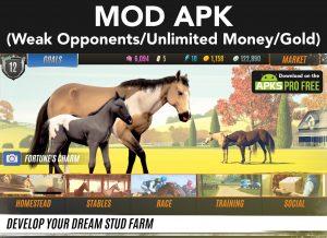 Rival Stars Horse Racing MOD Apk 1.22.1 (Weak Opponents) 100% Work 1