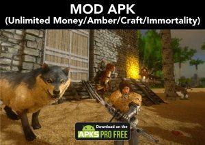 ARK: Survival Evolved MOD APK+OBB 2.0.25 (Unlimited Money/Amber) 1