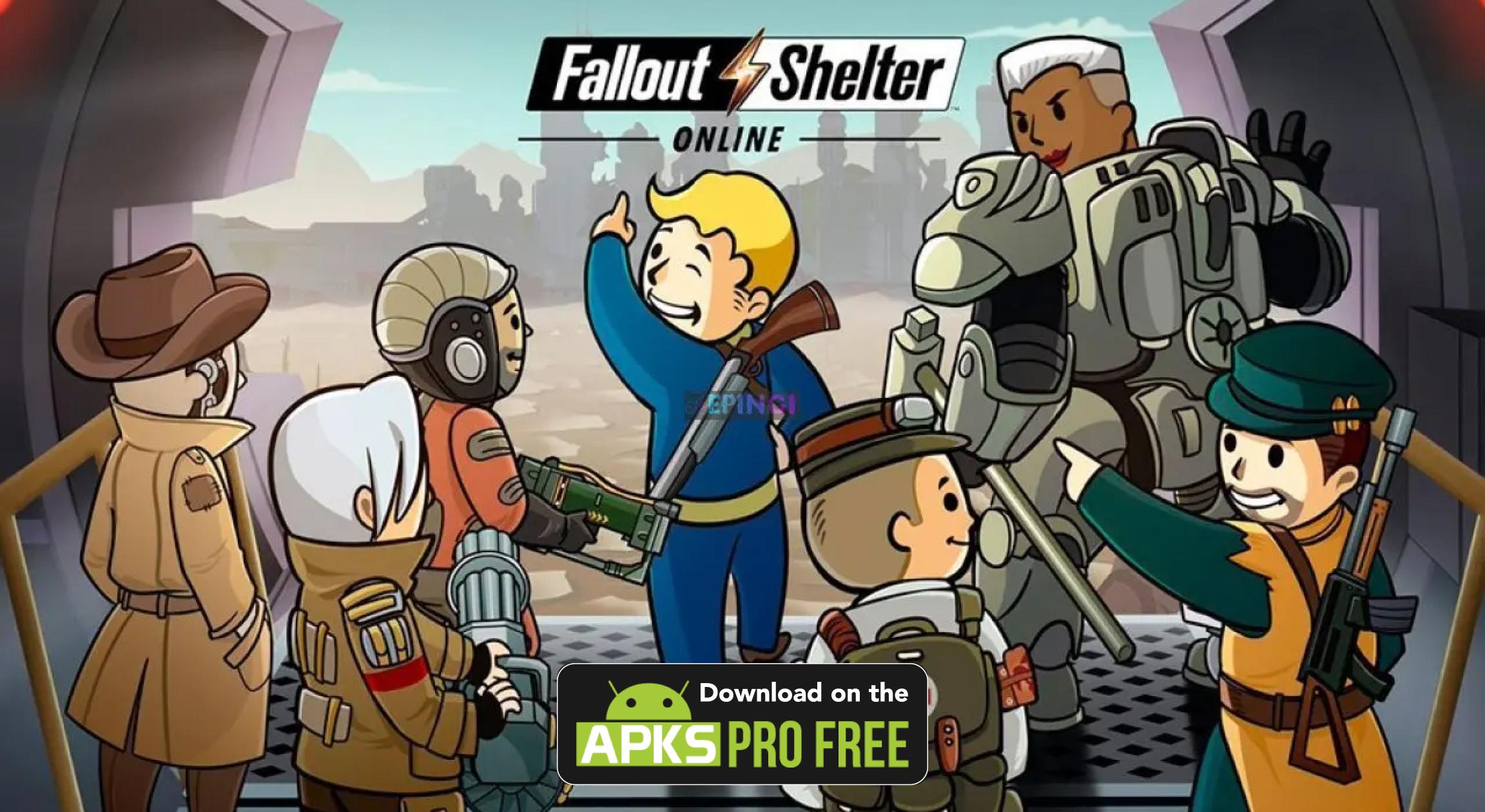 Fallout Shelter MOD Apk+OBB (Unlimited Money)