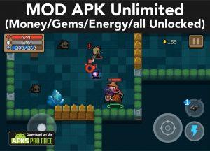 Soul Knight MOD APK 3.2.7 (Unlimited Money/Gems/Energy/all Unlocked) 2