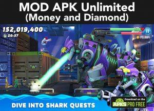 Hungry Shark World MOD Apk 4.4.2(Unlimited Money and Diamond) 2
