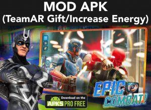 Marvel Strike Force MOD Apk  5.6.1 (TeamAR Gift/Increase Energy) 2