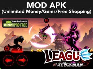 League of Stickman MOD Apk + OBB 6.1.6 (Unlimited Money/Gems) 6