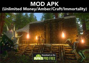 ARK: Survival Evolved MOD APK+OBB 2.0.25 (Unlimited Money/Amber) 2