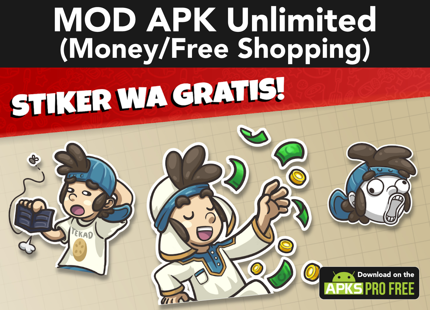 Tahu Bulat mod apk 15.2.6(Free Shopping/Unlimited Money) 100% Worked