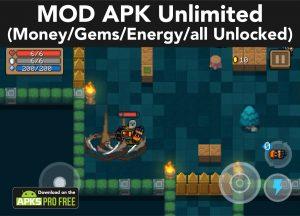 Soul Knight MOD APK 3.2.7 (Unlimited Money/Gems/Energy/all Unlocked) 3