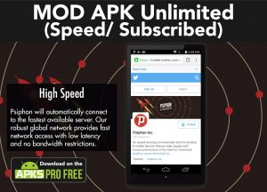 Psiphon PRO MOD APK 327 (Unlimited Speed/Subscribed) 3