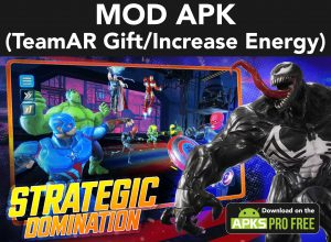 Marvel Strike Force MOD Apk  5.6.1 (TeamAR Gift/Increase Energy) 3