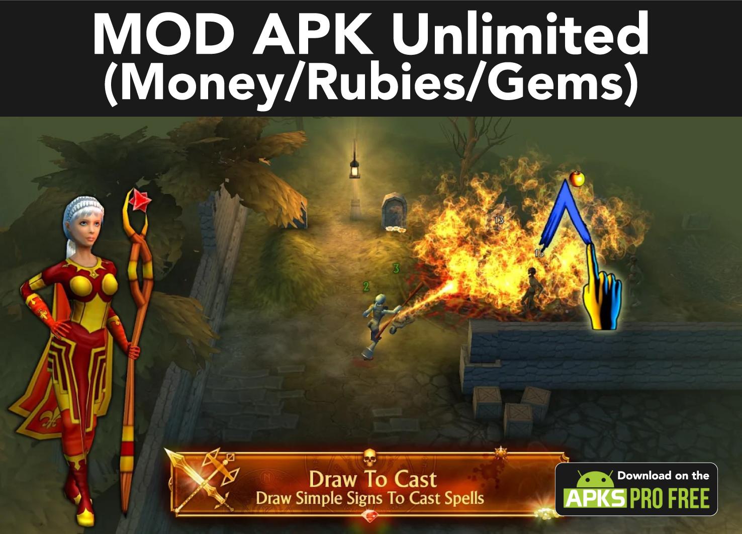 Etrenium MOD Apk (Unlimited Money/Rubies/Gems)