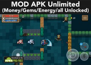 Soul Knight MOD APK 3.2.7 (Unlimited Money/Gems/Energy/all Unlocked) 4