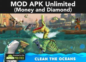 Hungry Shark World MOD Apk 4.4.2(Unlimited Money and Diamond) 4