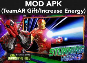 Marvel Strike Force MOD Apk  5.6.1 (TeamAR Gift/Increase Energy) 4