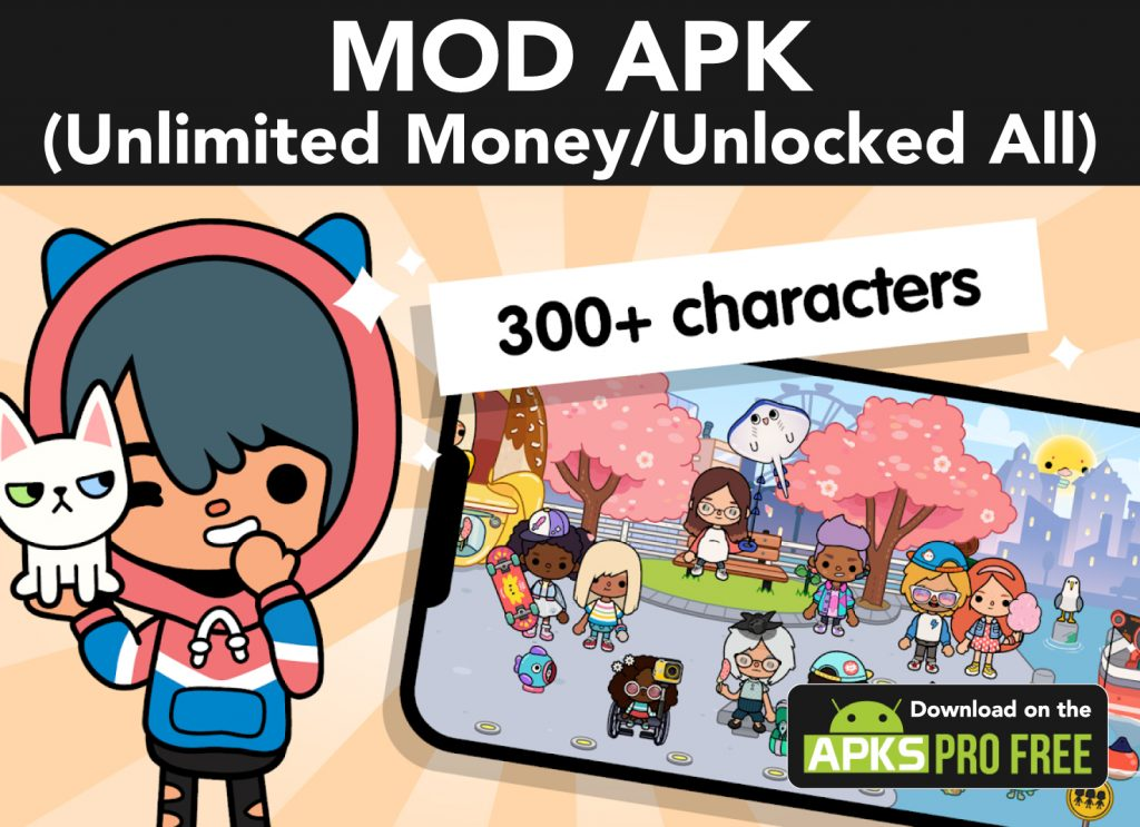 Toca Life World MOD APK (Unlocked All/Unlimited Money)