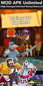 Hustle Castle: Fantasy Kingdom MOD Apk 1.44.0 (High Damage) 100% 5