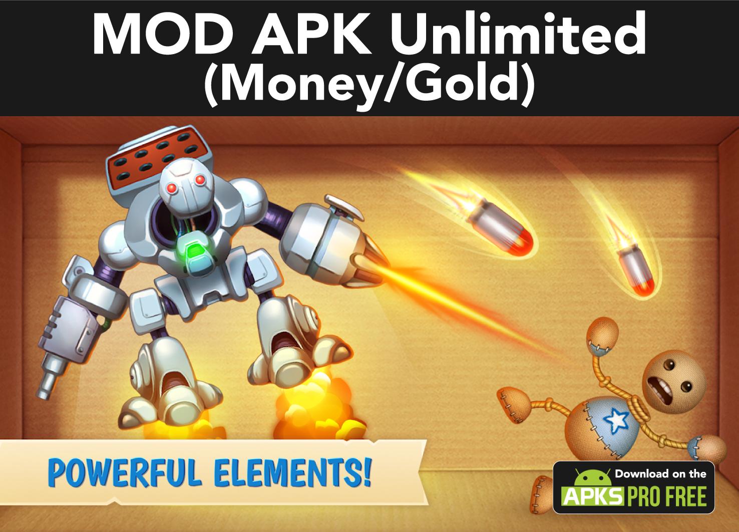 kick the buddy MOD Apk(Unlimited Money/Gold)