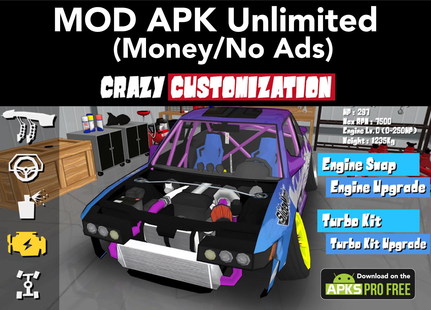FR Legends MOD Latest APK (Unlimited Money)