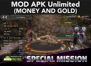 Gunship Battle: Helicopter 3D MOD Apk 2.8.11(Unlimited Money/ Gold) 5