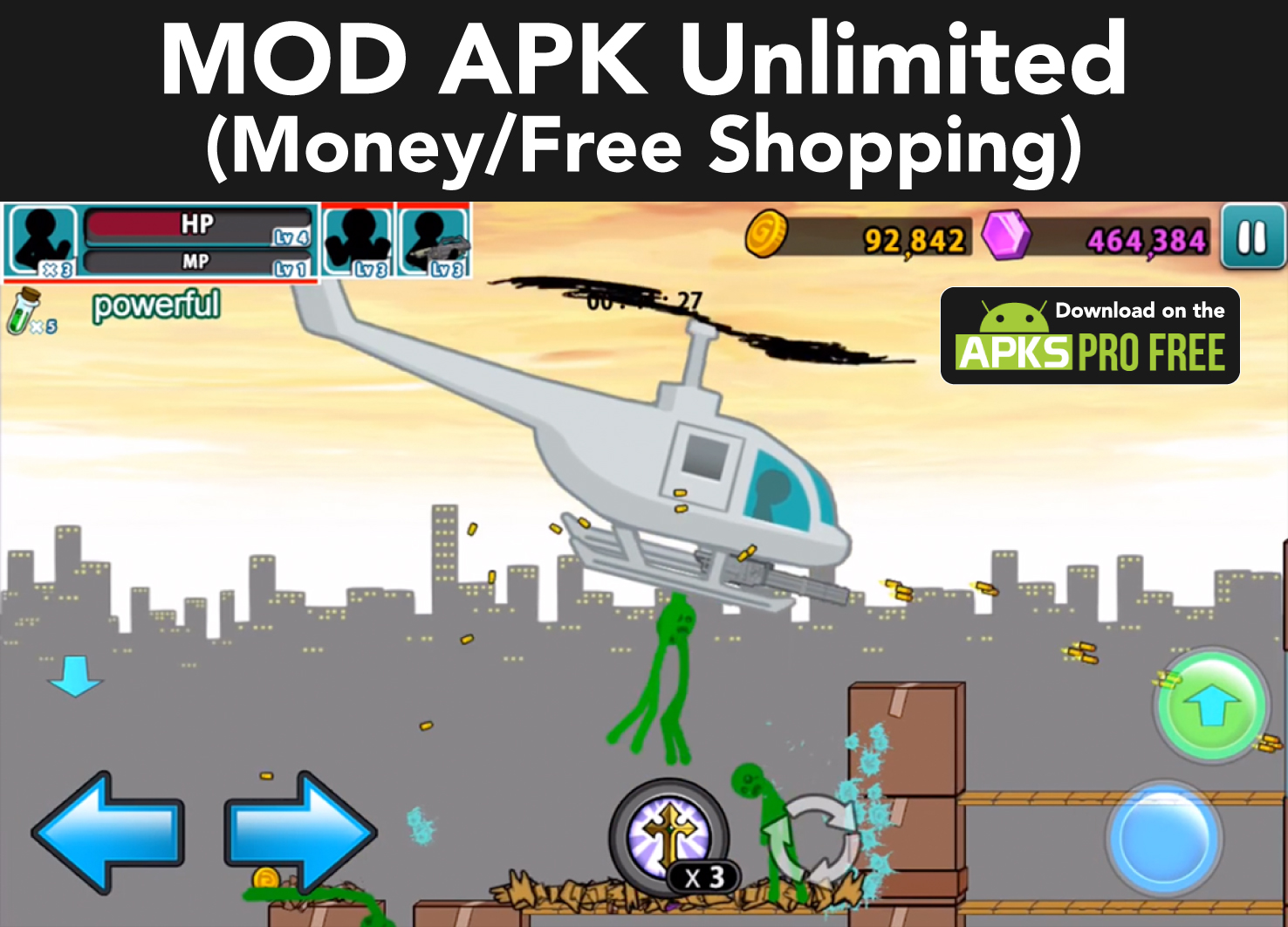 Anger of Stick 5: Zombie MOD APK 1.1.51(Unlimited Money/Free Shopping)