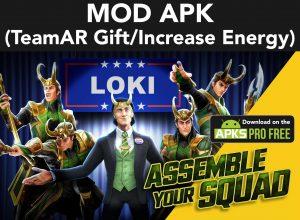 Marvel Strike Force MOD Apk  5.6.1 (TeamAR Gift/Increase Energy) 5