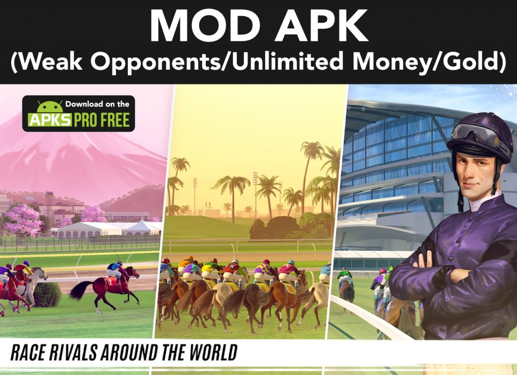 Rival Stars Horse Racing MOD Apk (Weak Opponents/Unlimited Money/Gold)