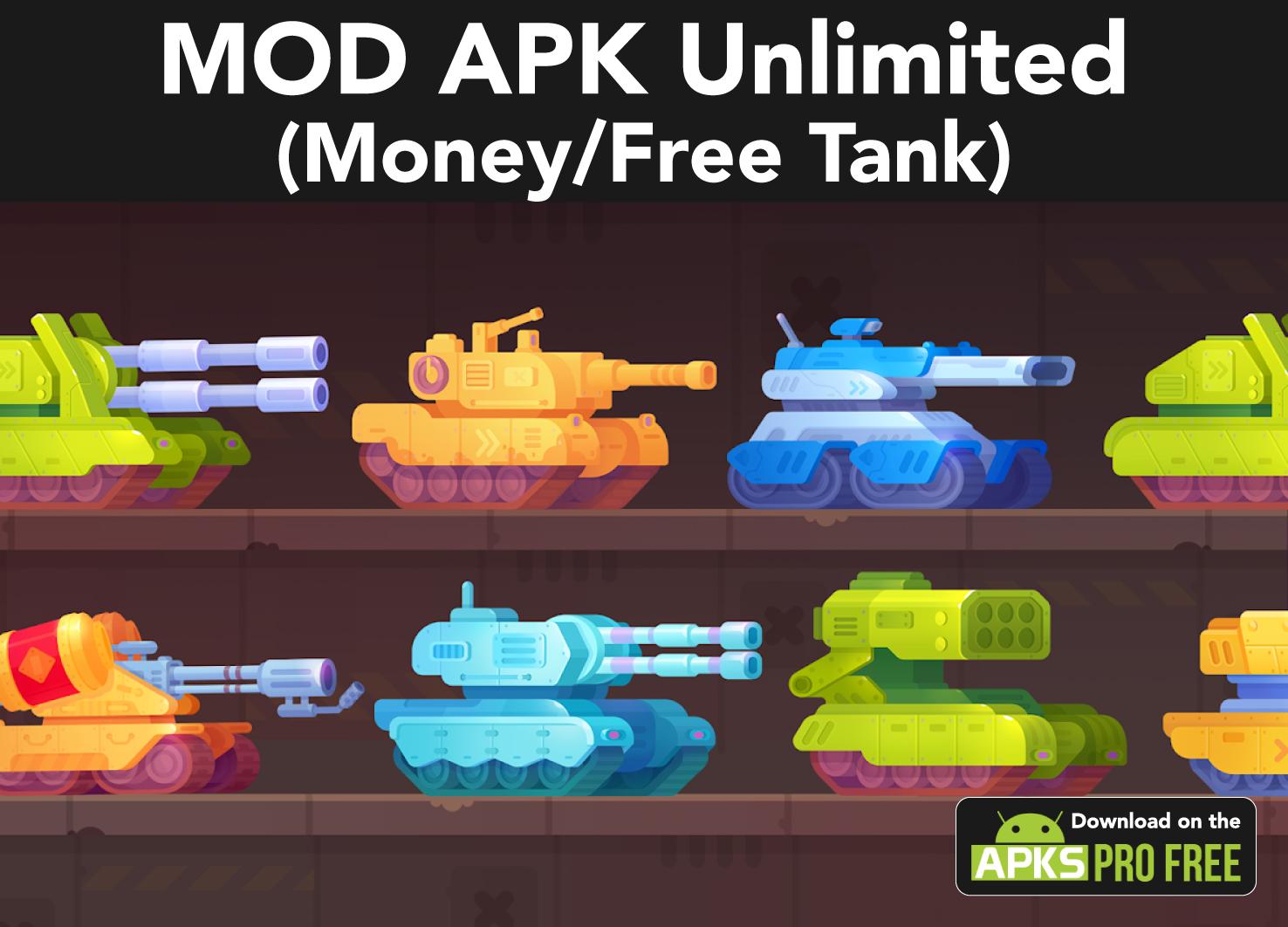 Tank Stars MOD Apk (Unlimited Money)