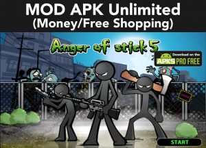 Anger of Stick 5: Zombie MOD APK 1.1.54 (Free Shopping) 6