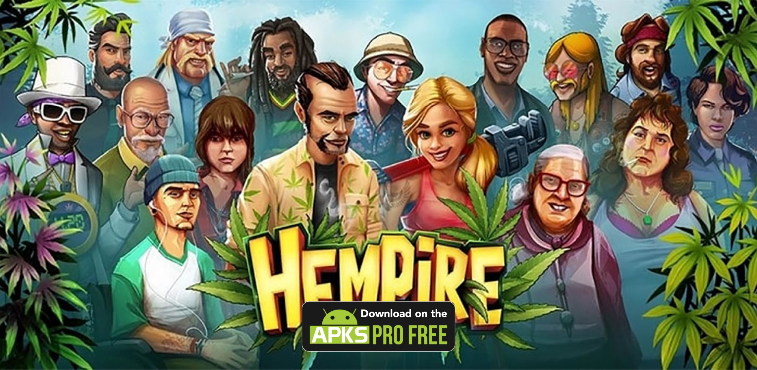 Hempire MOD Apk (Unlimited Money/Diamond)