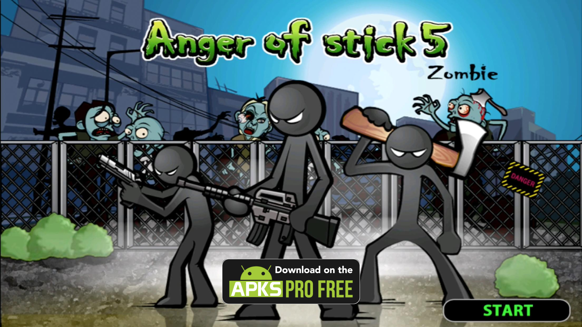 Anger of Stick 5: Zombie MOD APK (Unlimited Money/Free Shopping)