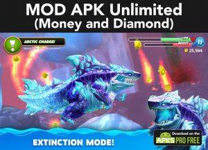 Hungry Shark World MOD Apk 4.4.2(Unlimited Money and Diamond) 8