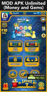 LUDO KING™ MOD Apk 6.2.0.192(Unlimited Money and Gems) 6