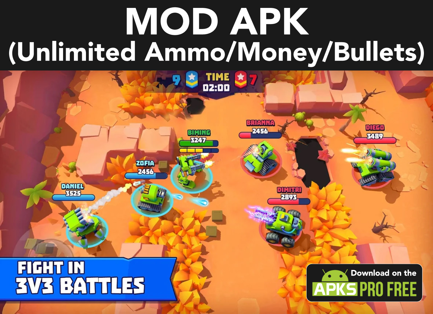 Tanks a lot! MOD APK (Unlimited ammo/Money/Bullets)