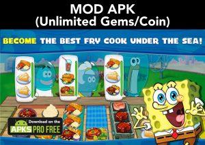 SpongeBob: Krusty Cook-off MOD APK 4.3.1 (Unlimited Gems/Coin) 1