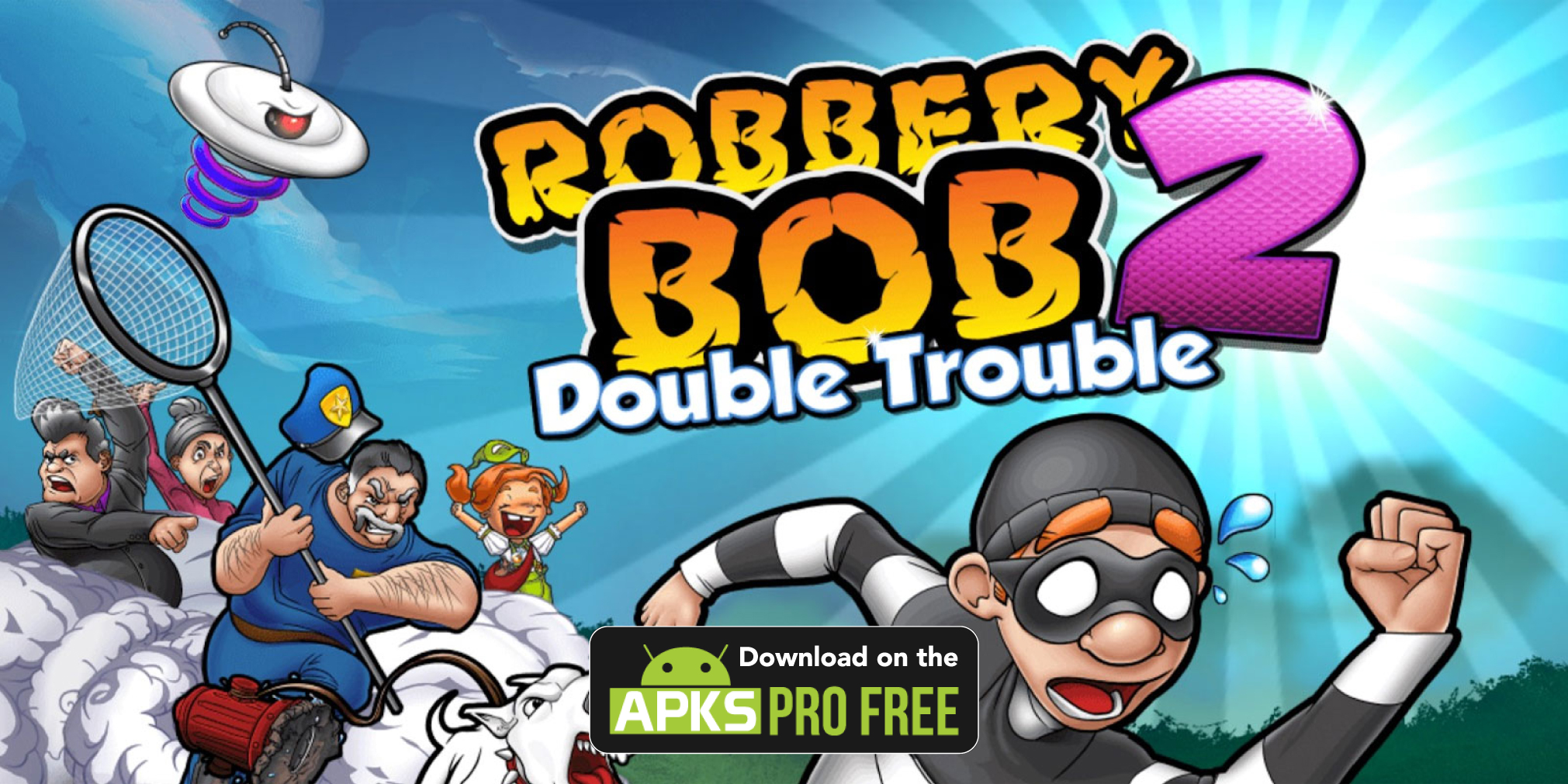 Robbery Bob 2: Double Trouble MOD Apk (Unlimited Coins)